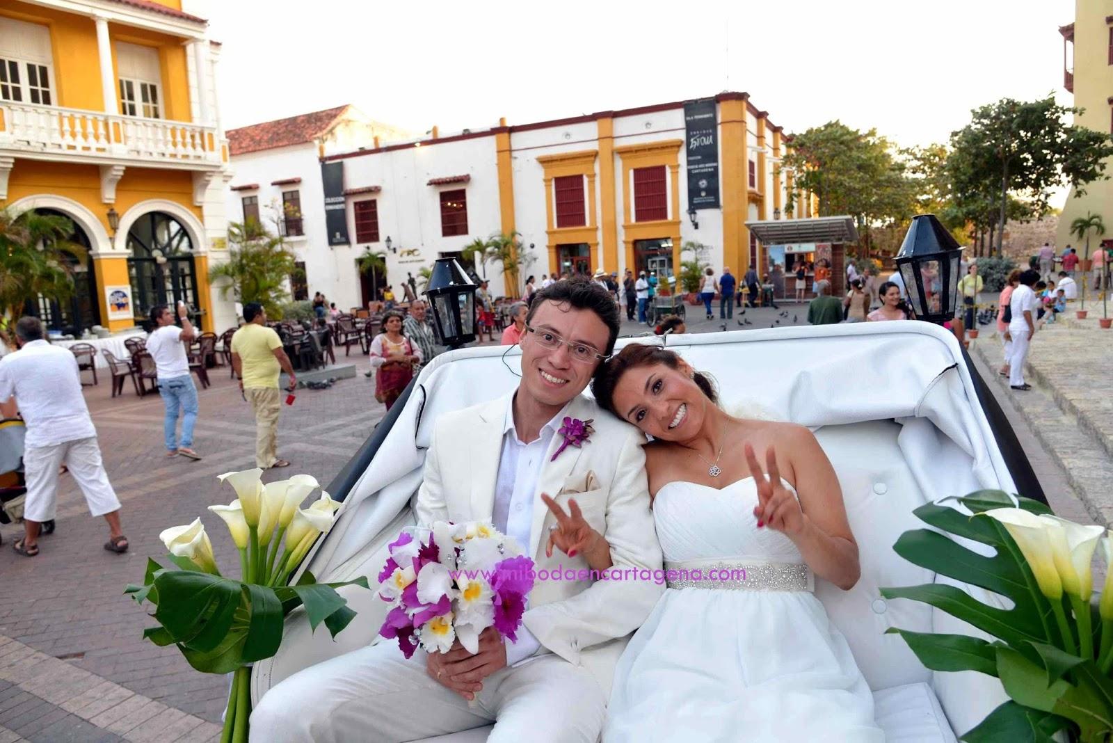 Matrimonio Simbolico En Cartagena : Mi boda en cartagena un paseo coche y