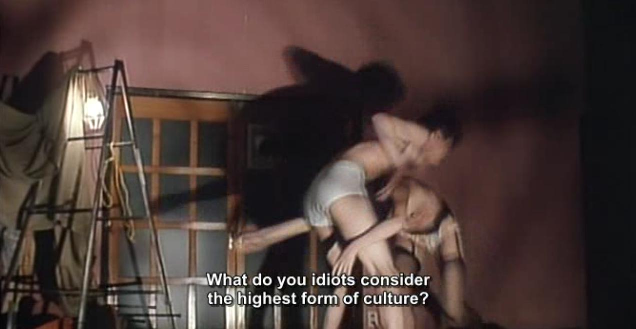 Дохлятина-пошлятина - рецензия на фильм Потроха девственницы 3: Дохля