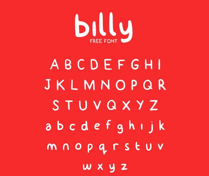 billy typeface (free)