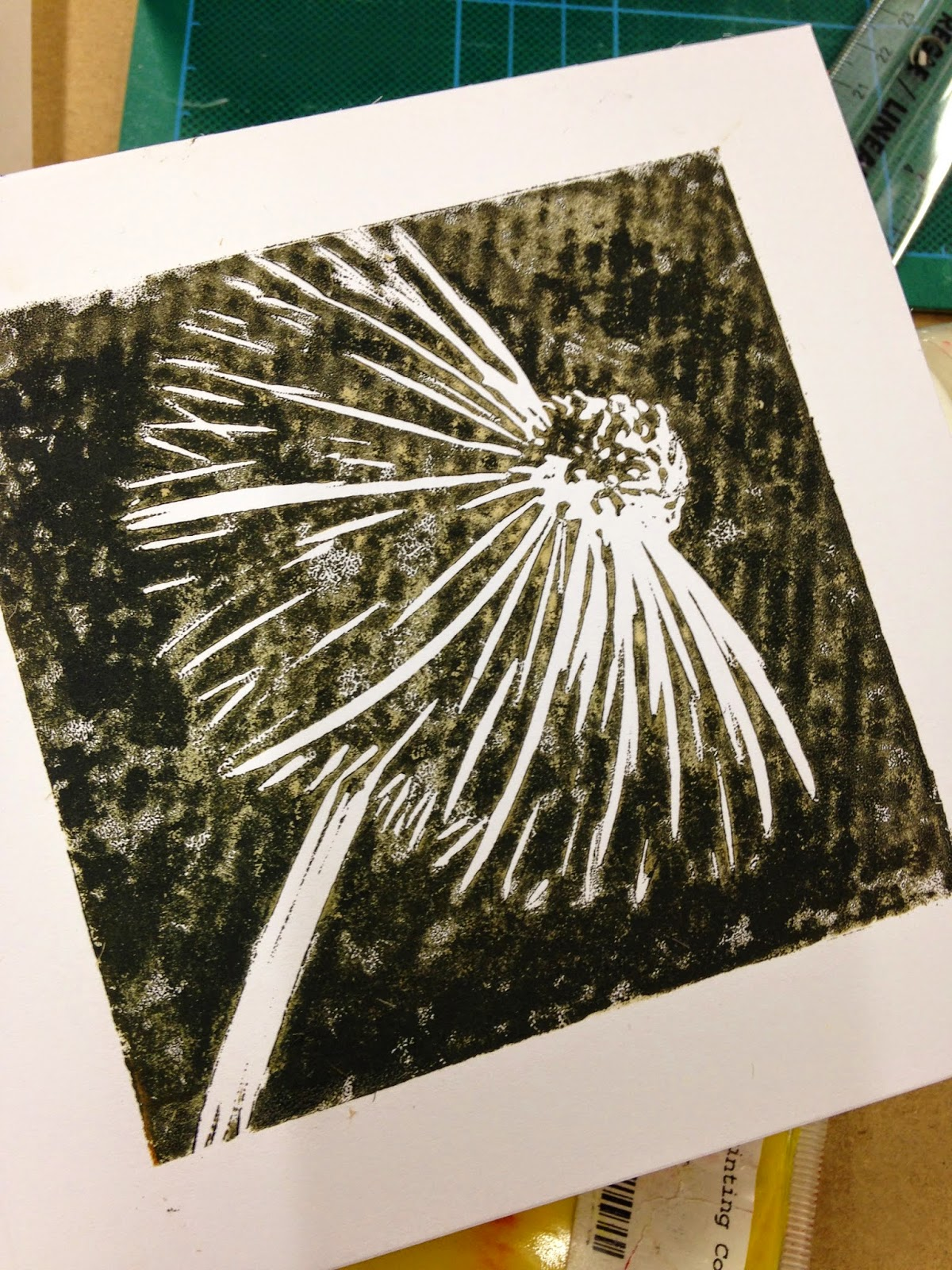 How to lino print