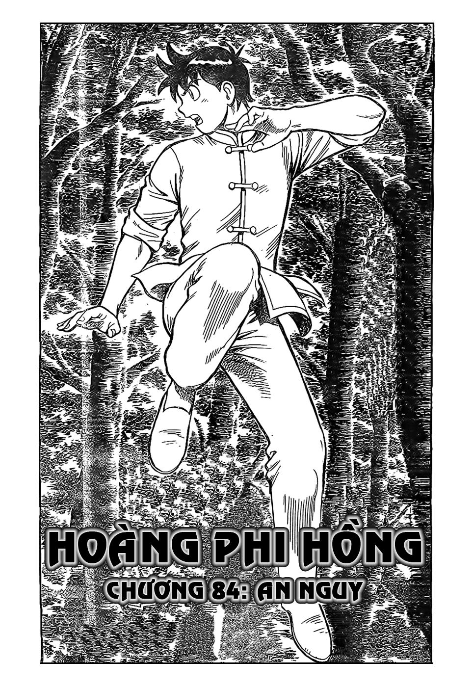 Hoàng Phi Hồng Phần 4 chap 85 Trang 2