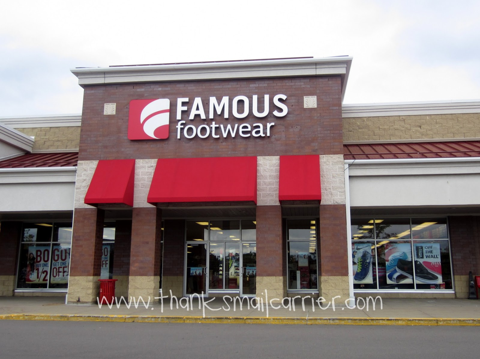 Famous Footwear stores