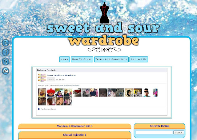 Blog Design :  Sweet And Sour Wardrobe