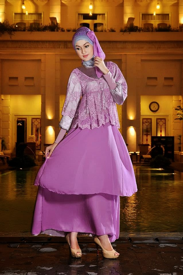 Model Baju Pesta Muslim Bahan Satin Model Baju Pesta Terbaru