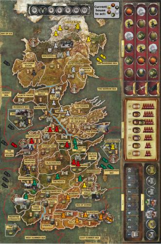 Juego de Tronos y la filosofa Juego de Tronos el juego de tablero I