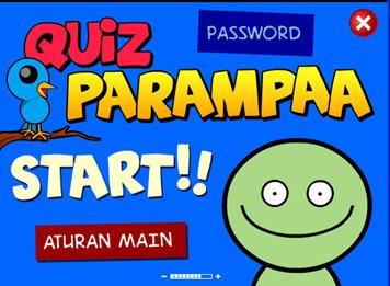game quiz parampaa adalah sebuah game yang mengasah otak kita dimana ...