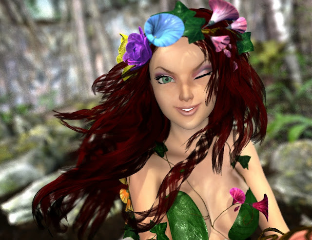 3d Models Art Zone - Lionella Hair