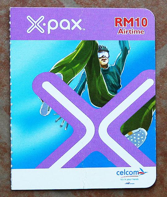 Kad prepaid X-pax
