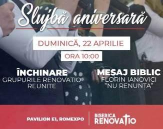 Aniversare 1 an la Biserica RENOVATIO București