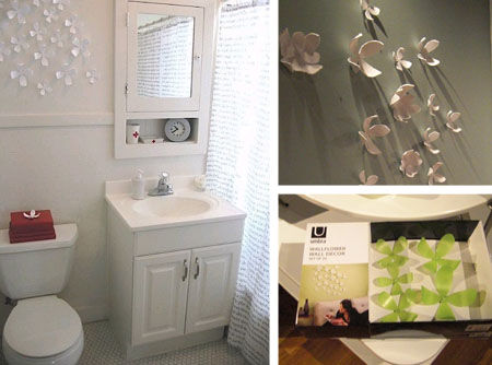 New Exclusive Home Design: Creative Wall Bathroom Decoration