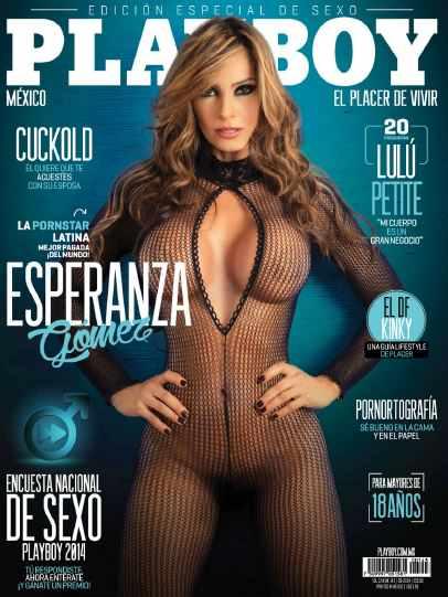 Fotos Esperanza Gómez Revista Playboy Septiembre 2014