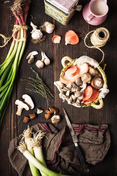 Mushroom Tart Ingredients