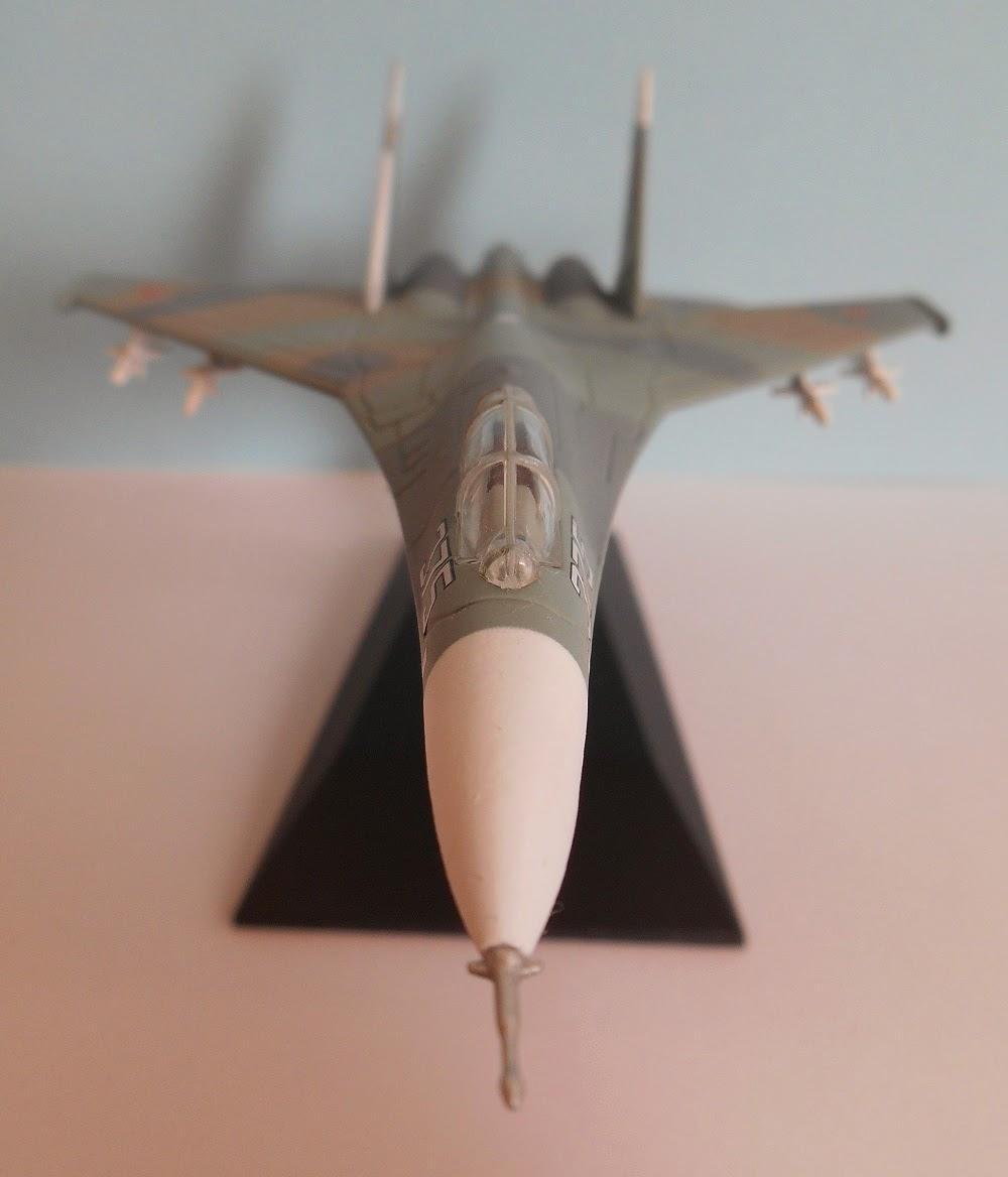 modelismo aéreo Sukhoi Su-27