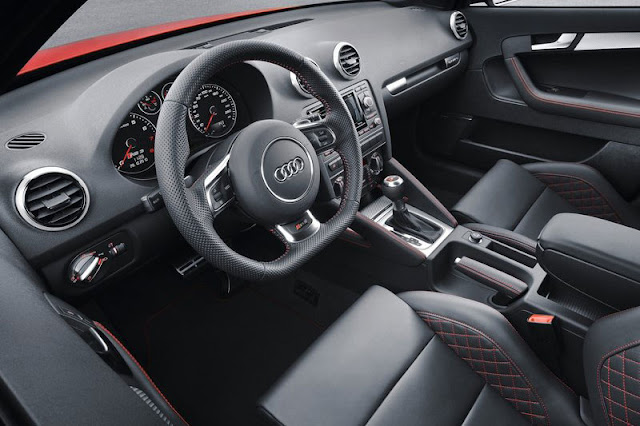 2012 Audi RS3 Sportback Front Interior
