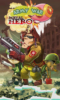 Screenshots of the Metal hero: Army war for Android tablet, phone.