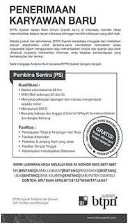 Loker Bank BTPN Syariah Palembang