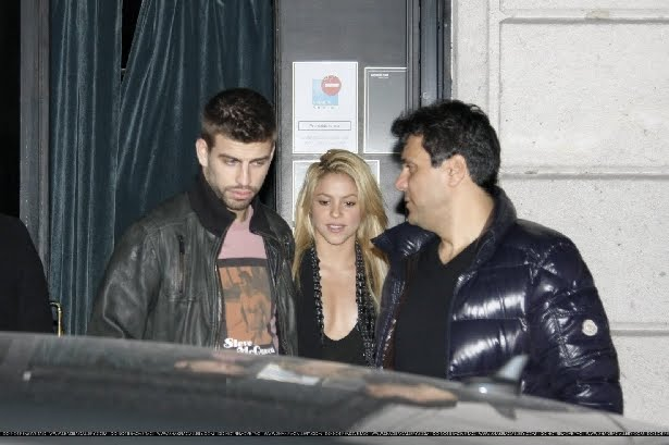 Shakira pique juntos