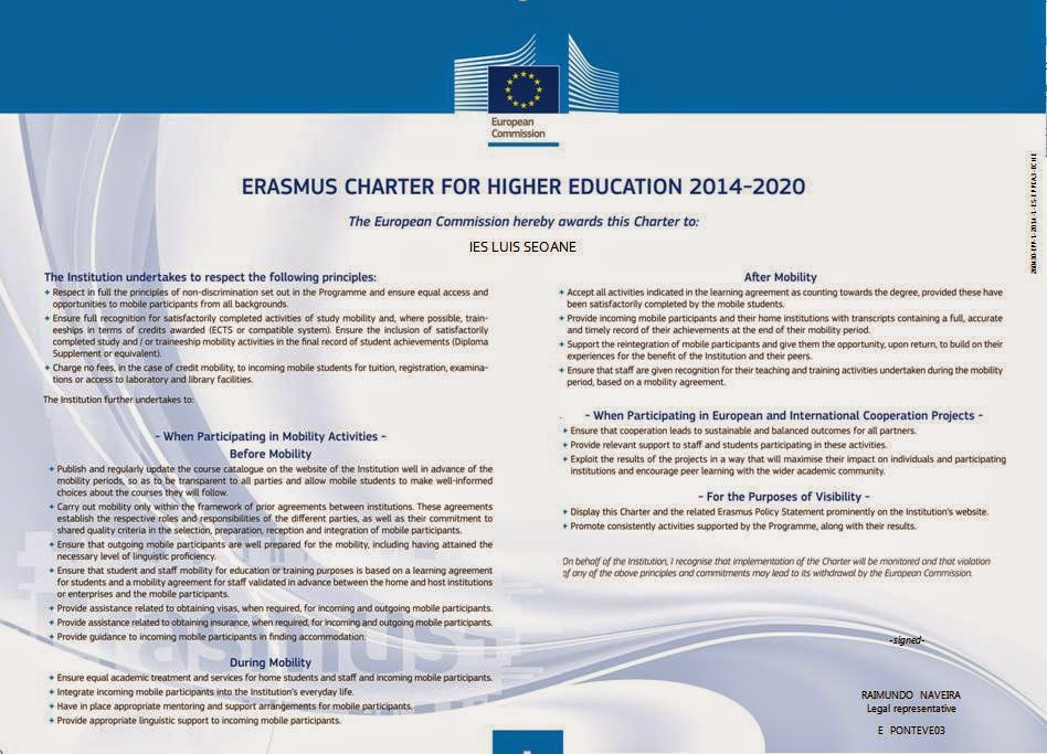 Nova Carta Erasmus