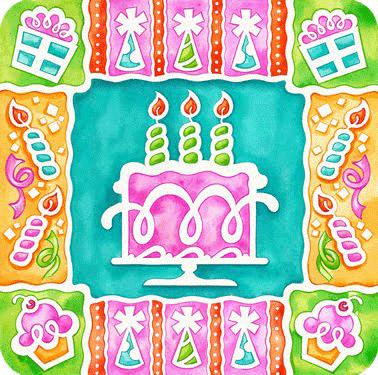 Decoracion de tarta de cumpleaños