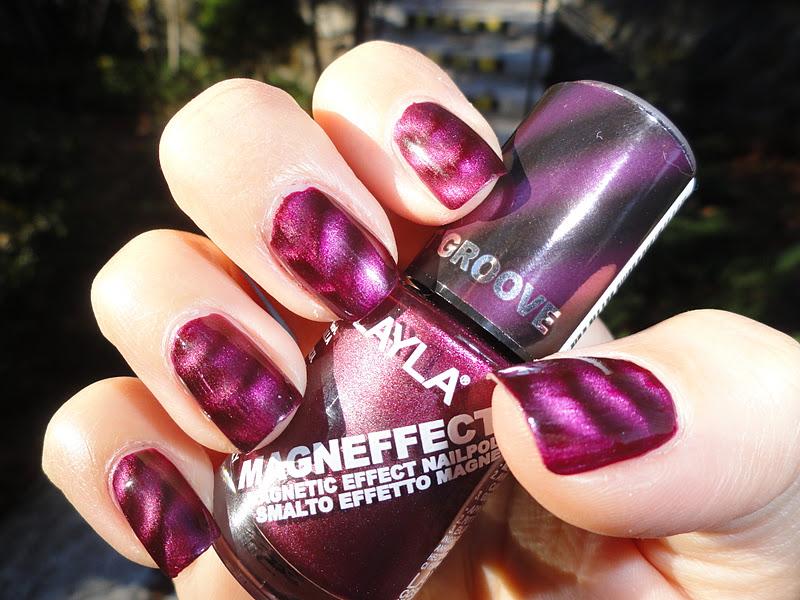 Nails Never Fails: NOTD Nails Inc. Trafalgar Square Magnetic polish