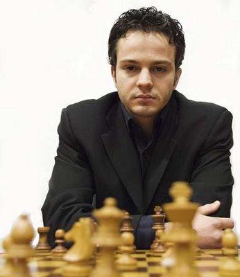 Le joueur d'échecs Français Etienne Bacrot