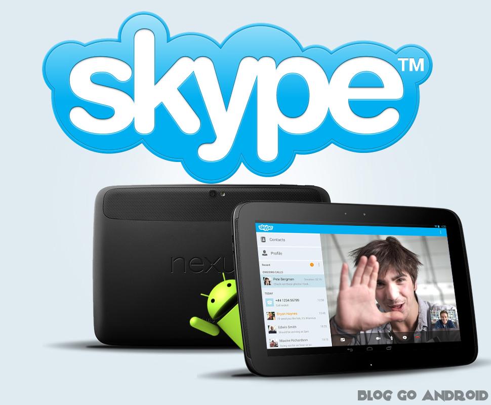 Skype на Android