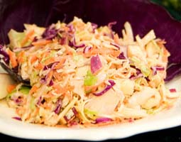 Weight Loss Recipes : Cabbage Salad with Caraway and Raisins