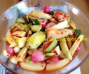 resep asinan buah sederhana
