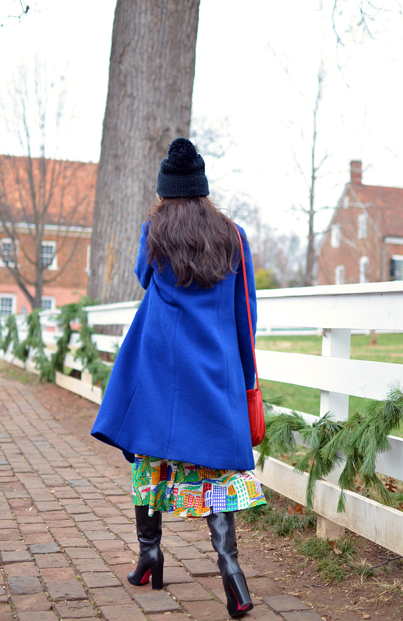 What to wear with cobalt blue
