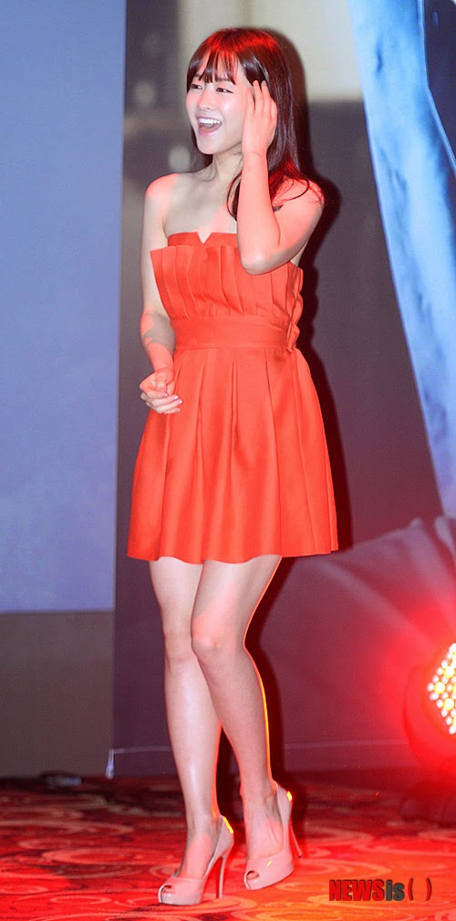Park Bo Young  (박보영) - Movie 'Hot Young Bloods' production briefing on 30 December 2013