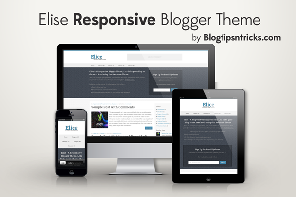 Elice Responsive Blogger Theme Demo