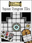 Square Dungeon Tiles
