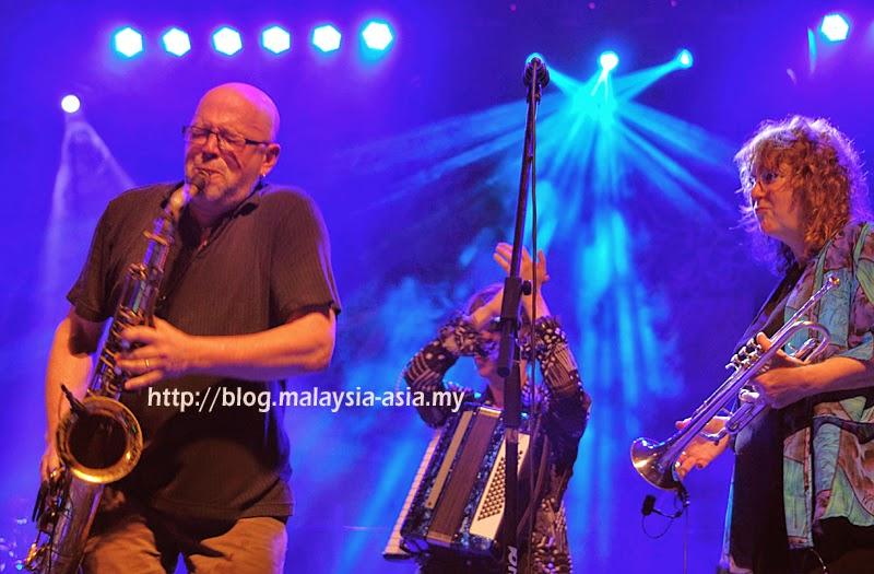Hazmat Modine Band at Borneo Jazz Festival