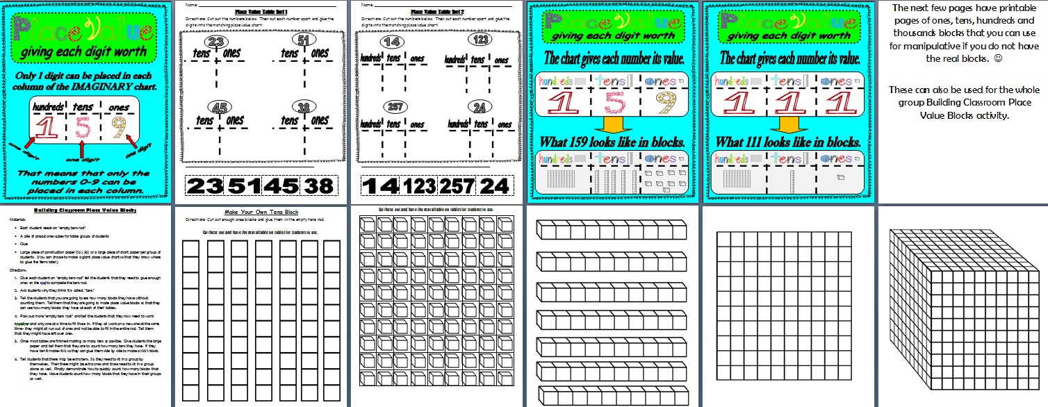 Lasotas little learners common core place value unit simple common core place value unit simple giveaway nvjuhfo Gallery
