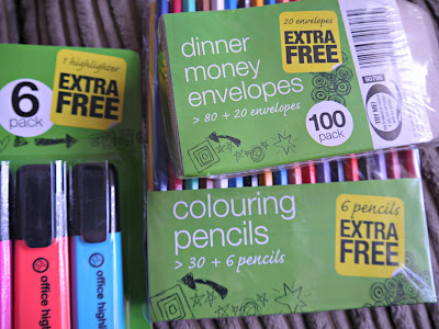 stationery, Poundland