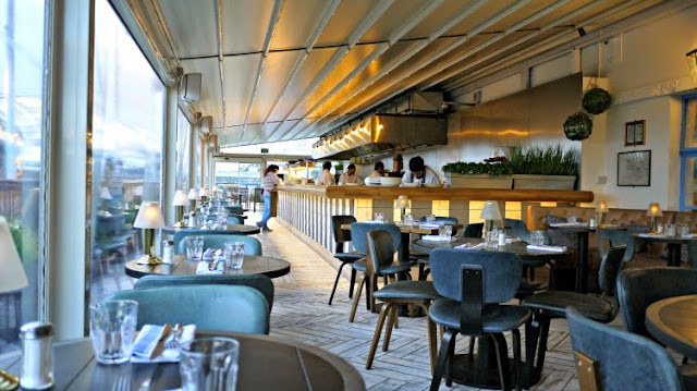 on the roof with vintage salt restaurant selfridges