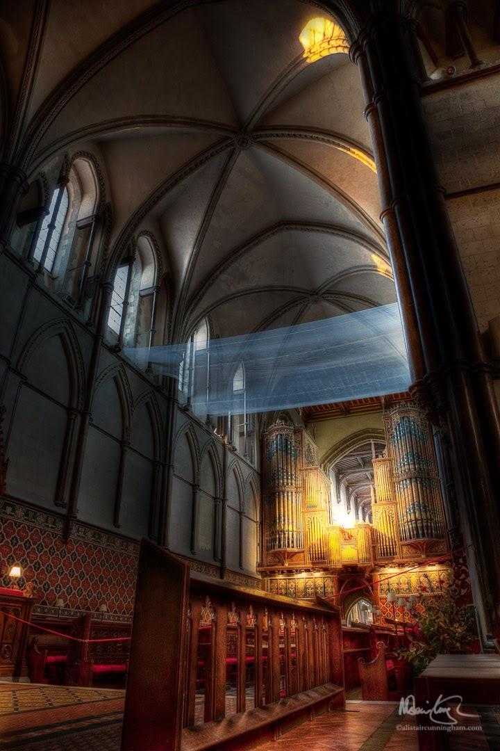 Alistair Cunningham, fotografía HDR, Catedral de Rochester