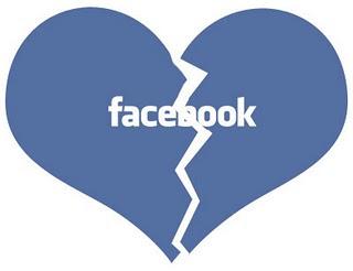 saat putus cinta di facebook