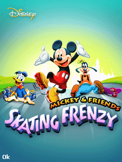 Mickey & friends: Skating frenzy,java touchscreen games