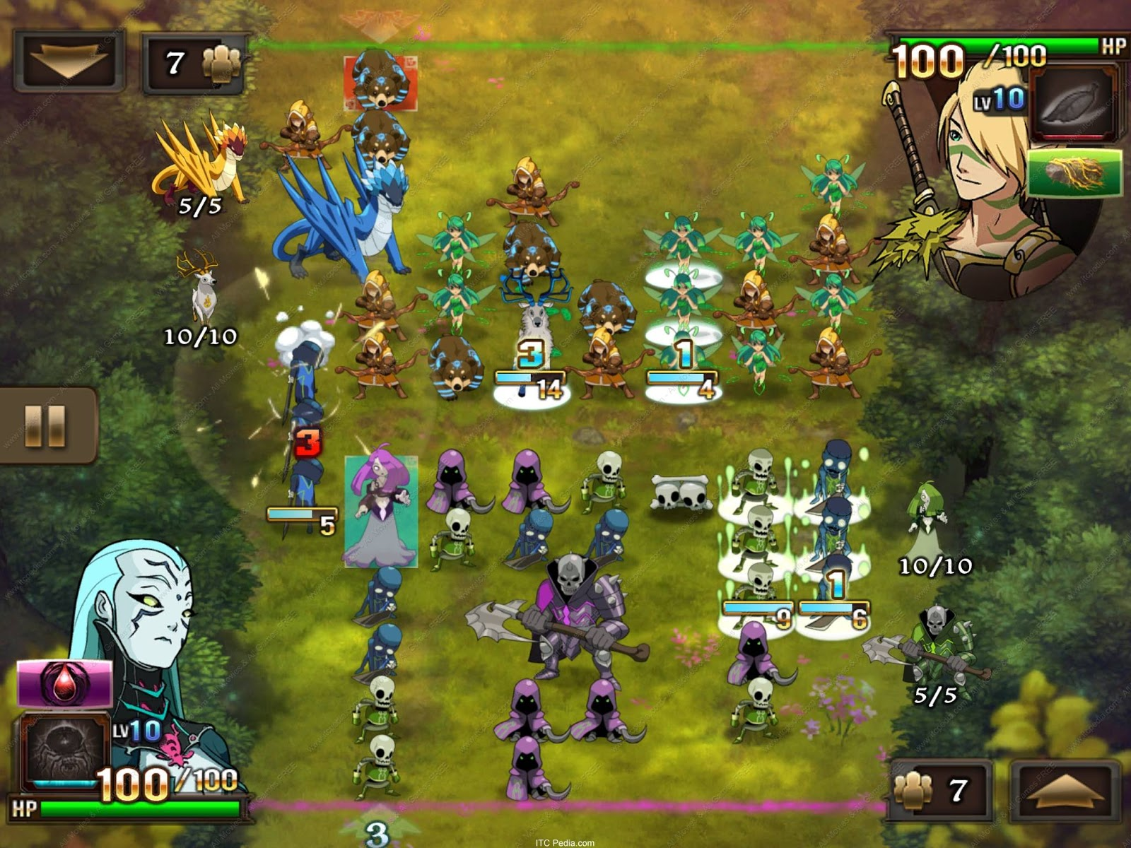 Might And Magic Clash Of Heroes v1 1 0 iPhone 3GS iPhone 4 iPhone 4S iPod Touch 3 iPod Touch 4 iPadiOSPDA