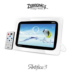 Zebronics Unveils Digital Photo Frame Artifice 3 - Mana Blog... for all