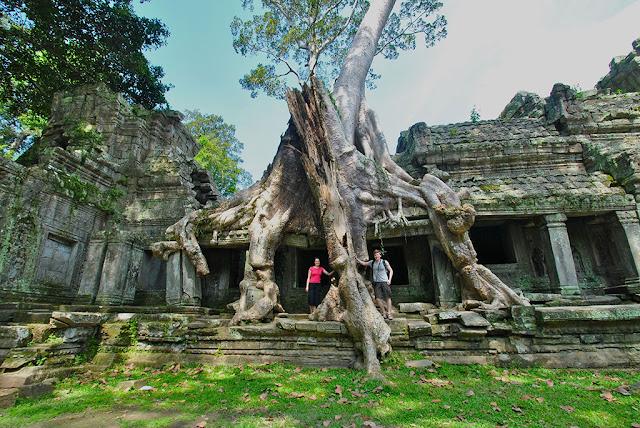 Ta Prohm, Viajes a Camboya