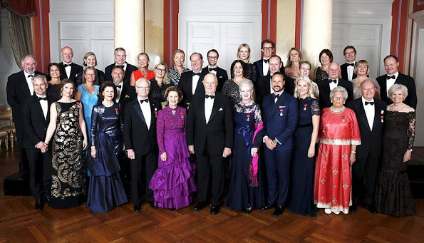 More 25th Anniversary Celebrations Of Royal Family Of Norway, The Dinner