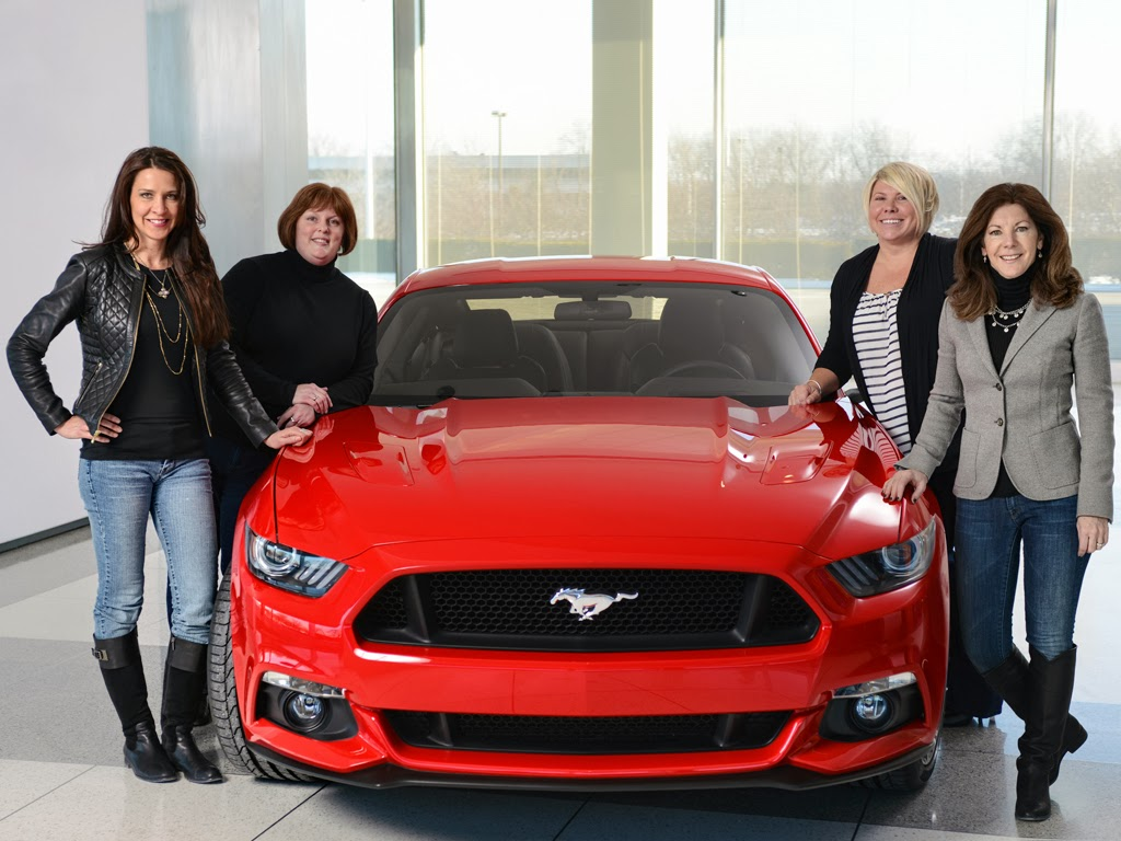 Ford Recognizes Women Behind 2015 Mustang