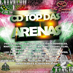 CAPAECONTRAVOZTOP Cd Top das Arenas Vol 1 (2014)
