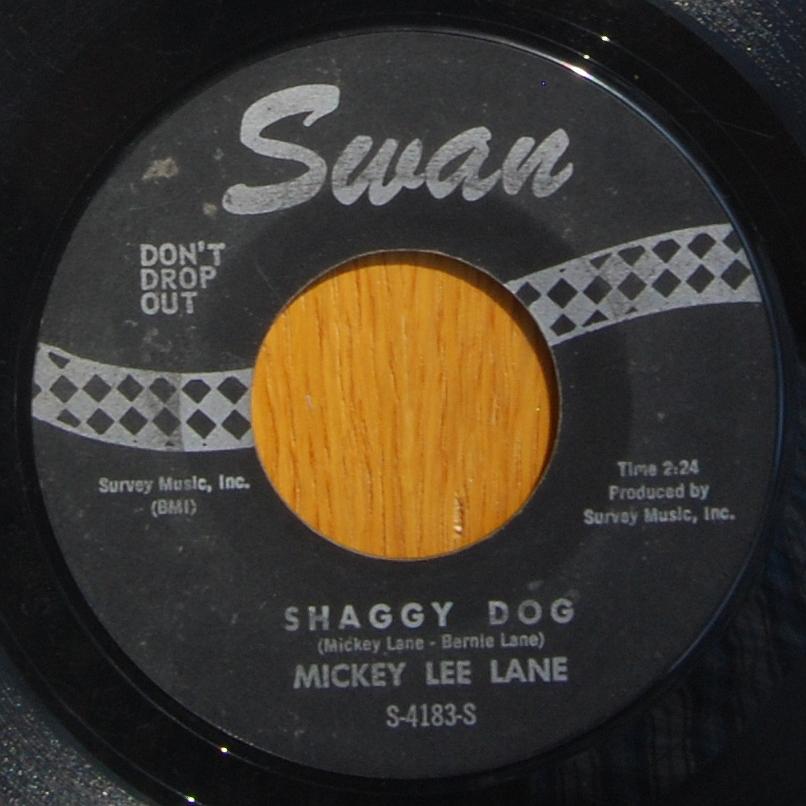 Mickey Lee Lane - Shaggy Dog / Oo-Oo