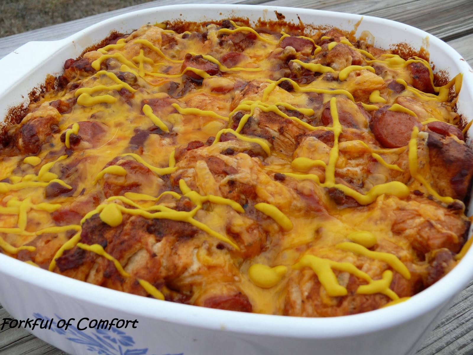 Forkful of Comfort: Bubble Chili Dog