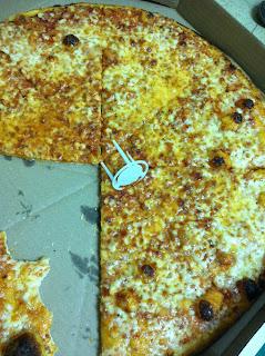 פיצה דומינו מגש ענק