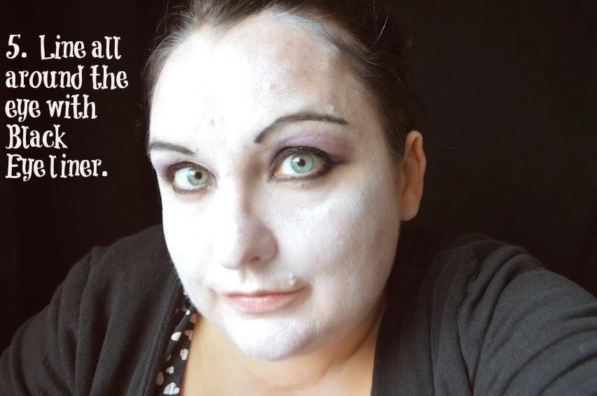 Halloween Rocky Horror Magenta Rimmel Make Up Look