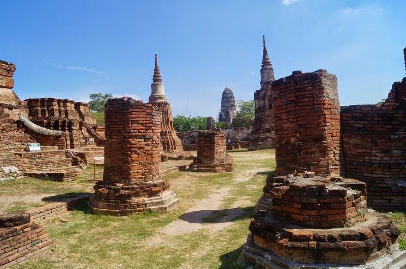 ruinas ayutthaya, Wat Mahathat,